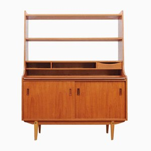 Mid-Century Scandinavian Teak Chest of Drawers and Shelves, 1970s