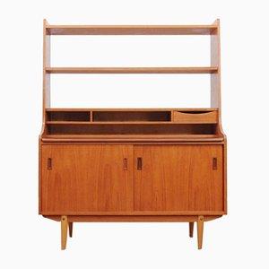 Mid-Century Scandinavian Teak Chest of Drawers and Shelves, 1970s