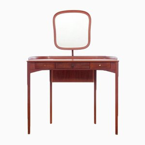 Mid-Century Scandinavian Mahogany Dressing Table by Carl Malmsten for Bodafors