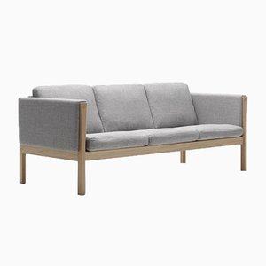 Mid-Century Scandinavian CH163 Sofa by Hans J. Wegner for Carl Hansen & Søn