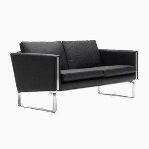 Mid-Century Scandinavian CH102 Sofa by Hans J. Wegner for Carl Hansen & Søn