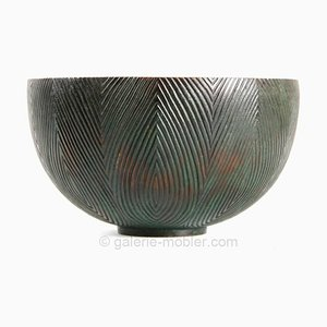 Fluted Bowl by Axel Salto, 1940s