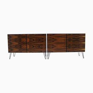 Mid-Century Palisander Sideboards, 1960er, 2er Set