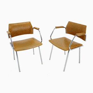 Italienische Sessel, 1970er, 2er Set
