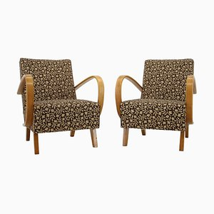 Mid-Century Armchairs by Jindrich Halabala, 1960s, Set of 2