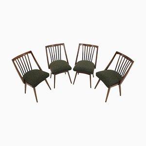 Mid-Century Esszimmerstühle von Antonín Šuman, 1960er, 4er Set