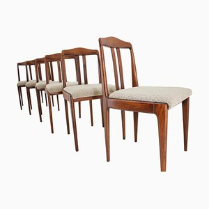 Mid-Century Esszimmerstühle von Johannes Andersen, 1960er, 6er Set
