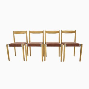 Dining Chairs by Miroslav Navratil, 1970s, Set of 4