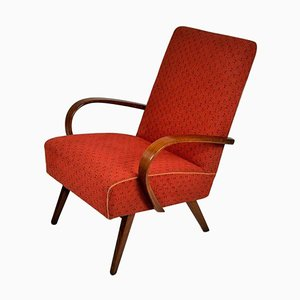 Mid-Century Bentwood Armchair from Thonet, 1960s
