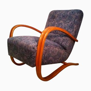 Vintage Model H269 Armchair by Jindrich Halabala, 1930s