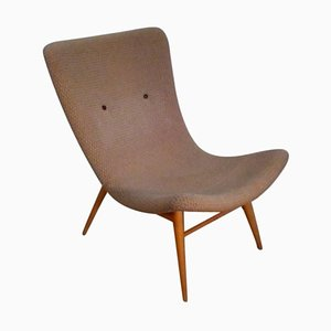Mid-Century Lounge Chair by Miroslav Navratil, 1950s