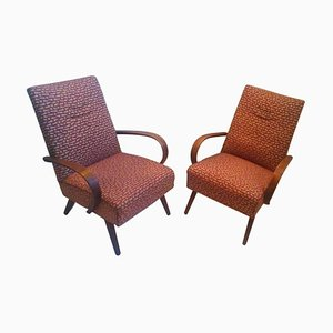 Bentwood Lounge Chairs from Thon, 1960s