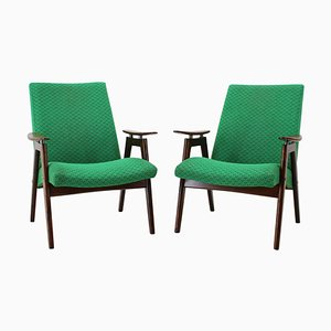 Mid-Century Armchairs by Jaroslav Šmídek, 1960s, Set of 2