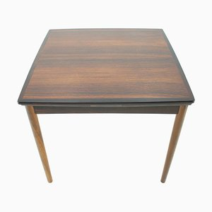 Mid-Century Scandinavian Adjustable Rosewood Dining Table , 1960s