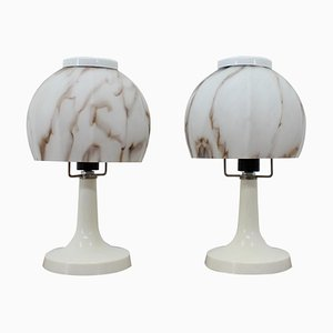 Vintage Table Lamps, 1970s, Set of 2