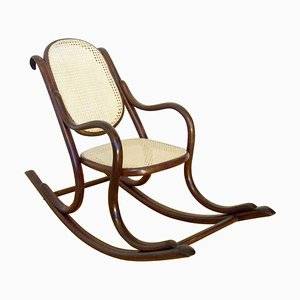Antique Nr. 2 Rocking Chair from D.G. Fischel, 1890s