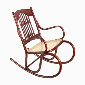 Antique Nr. 813 Rocking Chair by Michael Thonet for Jacob & Josef Kohn, 1900s