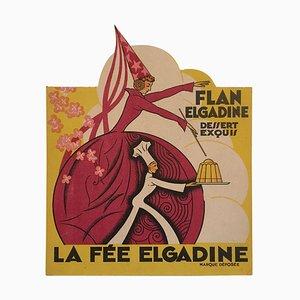 Französisches Art Deco Werbeplakat, 1930er