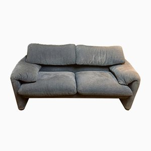 Vintage Maralunga 2-Seat Sofa by Vico Magistretti for Cassina