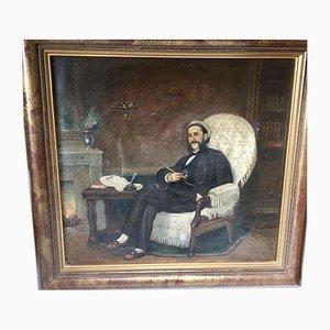 Öl auf Leinwand von Michel Revol, 1878