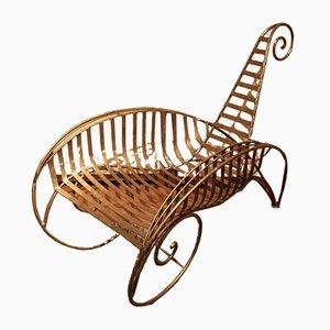 Vintage Sessel im Stil von Andre Dubreuil
