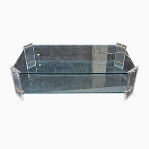 Vintage Plexiglass Coffee Table, 1970s