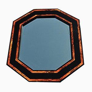 Oktogonaler Vintage Spiegel
