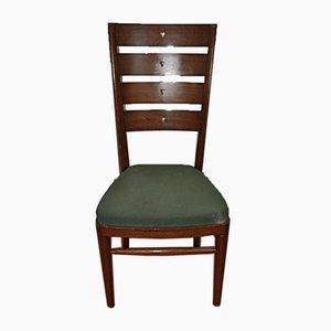 Vintage Palisander Esszimmerstühle, 1950er, 10er Set