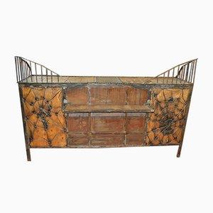Industrielle Vintage Lagerbank