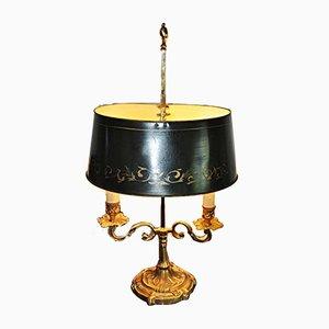 Vintage Wärmflasche Lampe