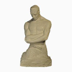 Vintage Kunstgips Skulptur