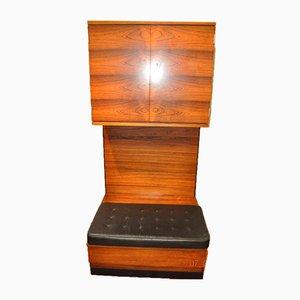 Vintage Rosewood Entrance Cabinet