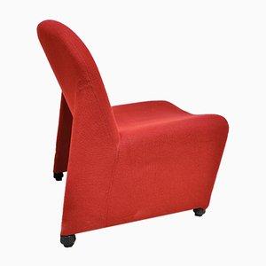 Red Alky Stühle von Giancarlo Piretti für Castelli, 1970er, 2er Set