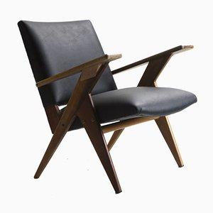 Mid-Century Modern Brazilian Armchair by José Zanine Caldas for Linha Z, 1950s