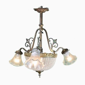 French Ceiling Lamp, 1930s