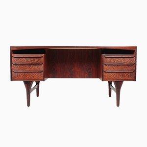 Dänischer Palisander Schreibtisch von Valdemar Mortensen, 1960er
