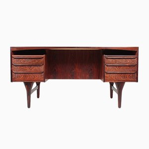 Danish Rosewood Desk by Valdemar Mortensen, 1960s