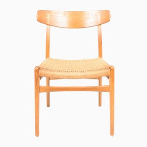 Oak CH 23 Side Chairs by Hans J. Wegner for Carl Hansen & Søn, 1950s, Set of 6