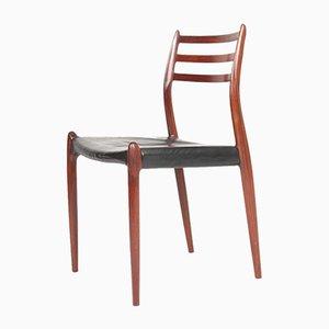 Palisander Esszimmerstühle von Niels Otto Møller für JL Møllers, 1960er, 8er Set