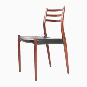Rosewood Dining Chairs by Niels Otto Møller for J.L. Møllers, 1960s, Set of 8