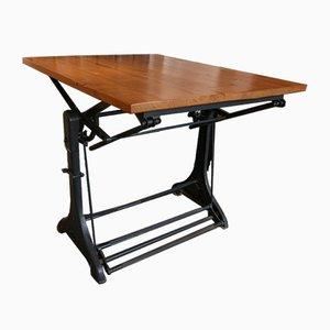 Mesa de bar industrial vintage