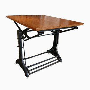 Vintage Industrial Bar Table