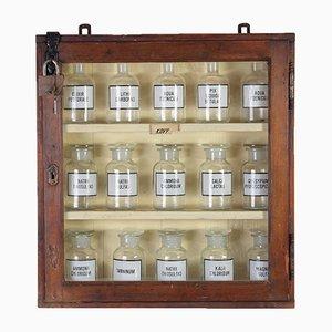 Mueble de farmacia vintage, años 60
