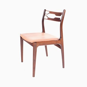 Danish Rosewood Razorblade Dining Chairs, 1960s, Set of 6
