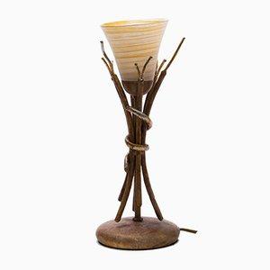 Postmoderne französische Tischlampen, 1980er, 2er Set