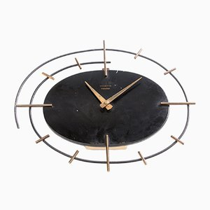 French Wall Clock by Vedette, 1950s