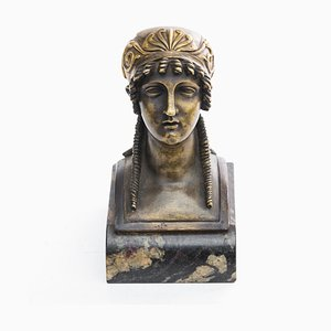 Vintage Empire Style Female Bust
