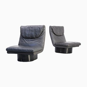 Lounge Chairs by Titina Ammannati & Giampiero Vitelli for Comfort Italy, 1970s, Set of 2