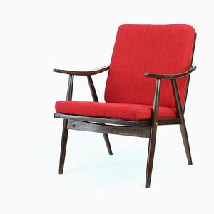 Czech Armchair from TON, 1960s