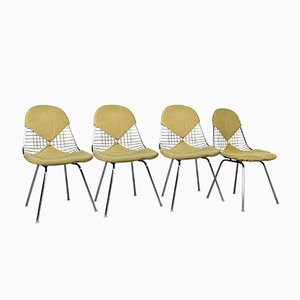 4 DKR Bikini Chairs by Charles & Ray Eames for Herman Miller, 1950s, Set of 4
